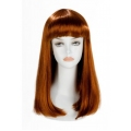Perruques - Perruque longue China Doll rousse