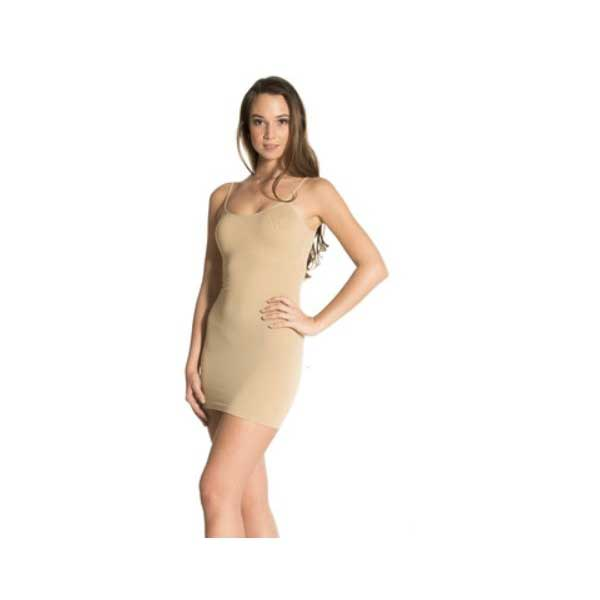 Vetements - Robe moulante beige