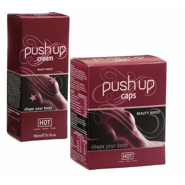 Crèmes volume seins - Pack Duo Push up (150 ml)