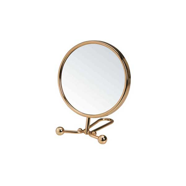 Maquillage - Miroir double face grossissant 5X