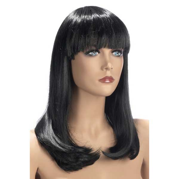 Perruques - Perruque longue China Doll brune