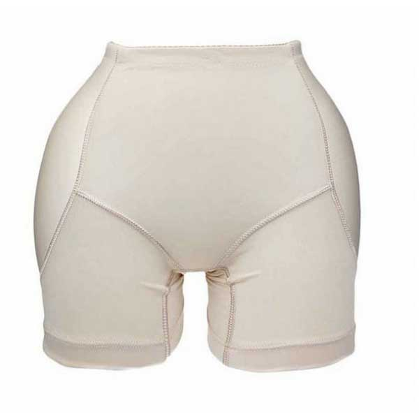 Silhouette travesti - Boxer fausses hanches beige